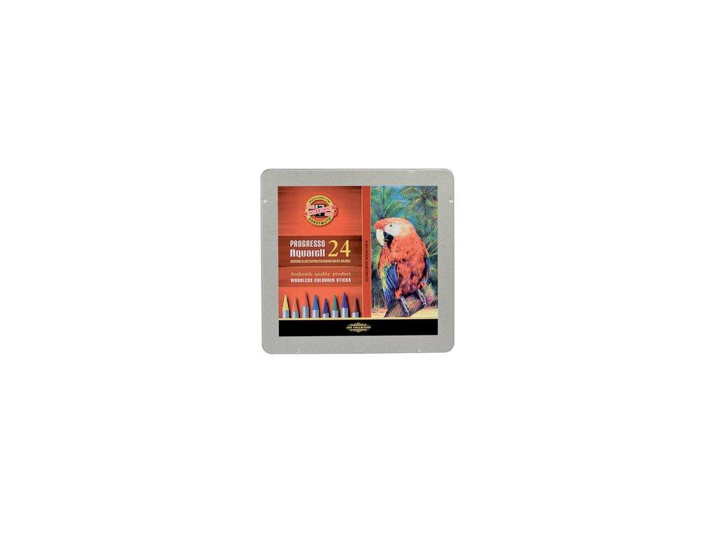 Pastelky 8784 24 PROGRESSO v laku akvarelové - www.stencl.cz ee29393afb