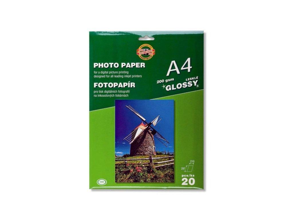 Fotopapír LESKLÝ 200g A4 9757/20