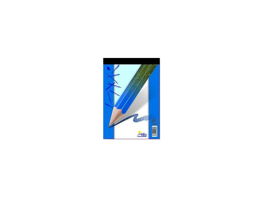 Blok šitý A7 Notes 50 listů - čistý (nelinkovaný)