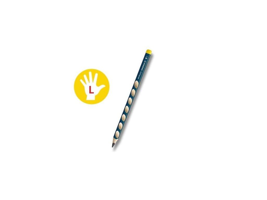 Obyčejná tužka trojhranná silná STABILO EASYgraph HB L