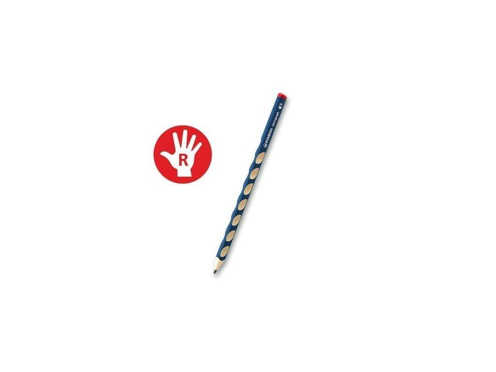 Obyčejná tužka trojhranná silná STABILO EASYgraph HB P