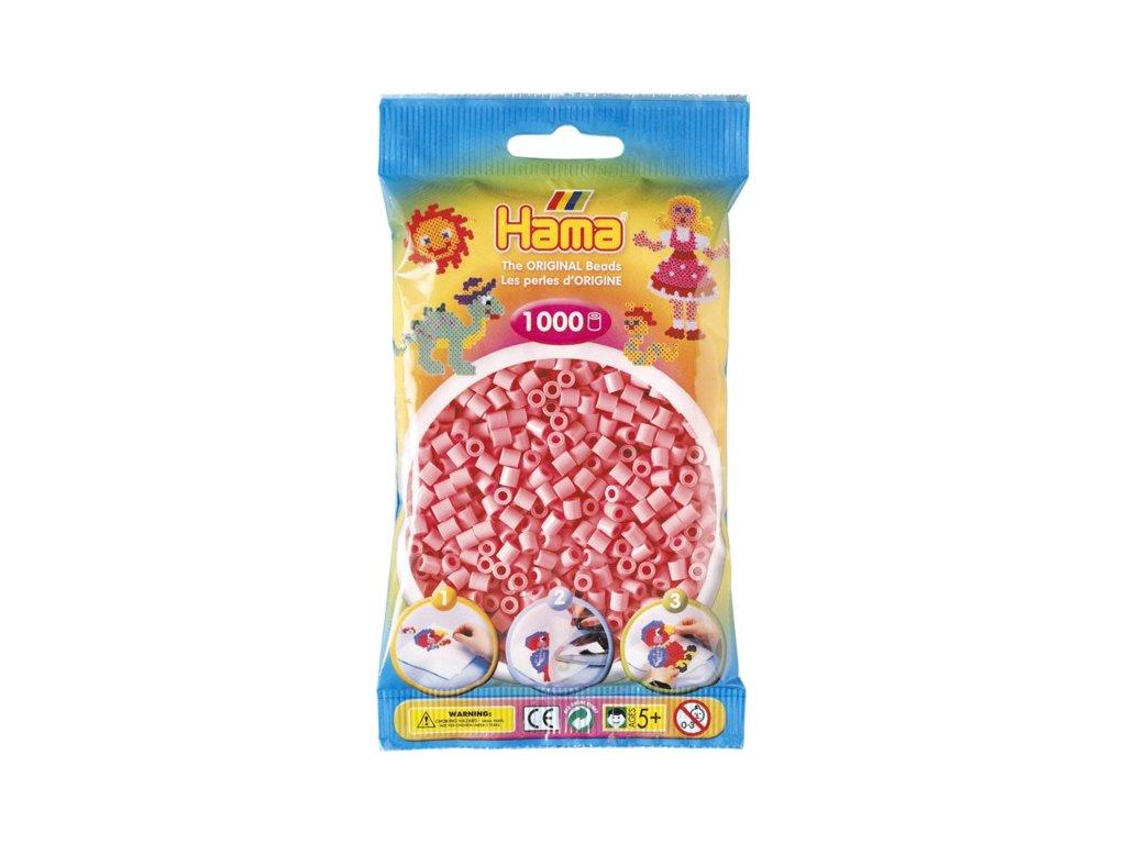 Zažehlovací korálky Hama - Růžové