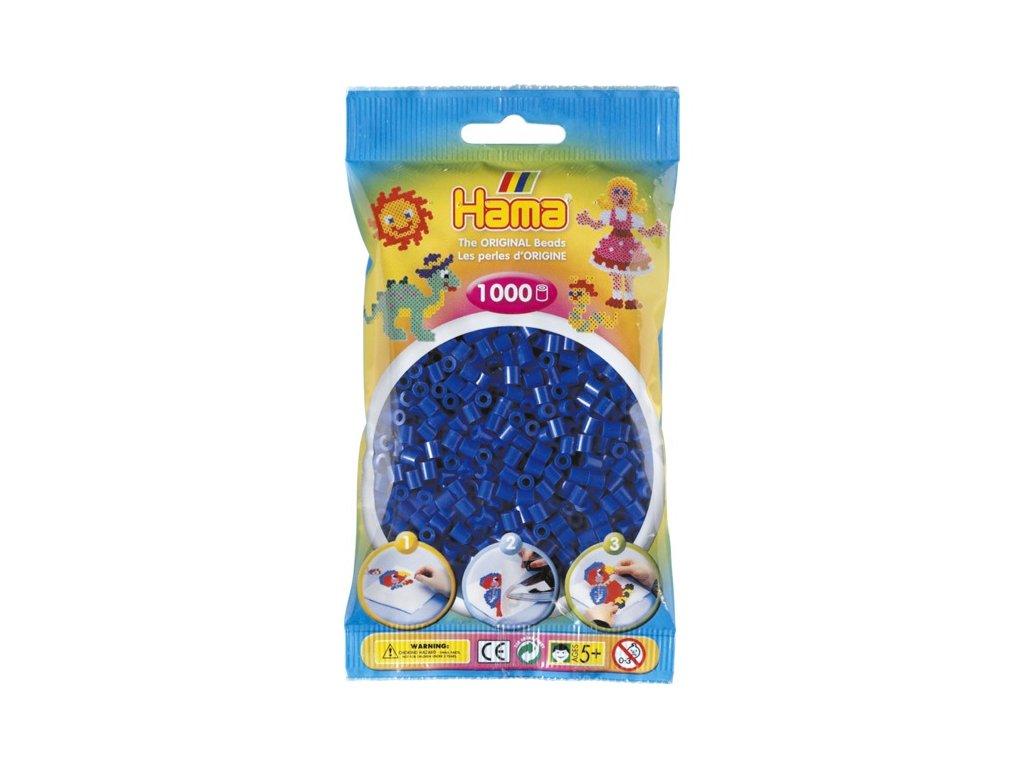 Zažehlovací korálky Hama  - Modré