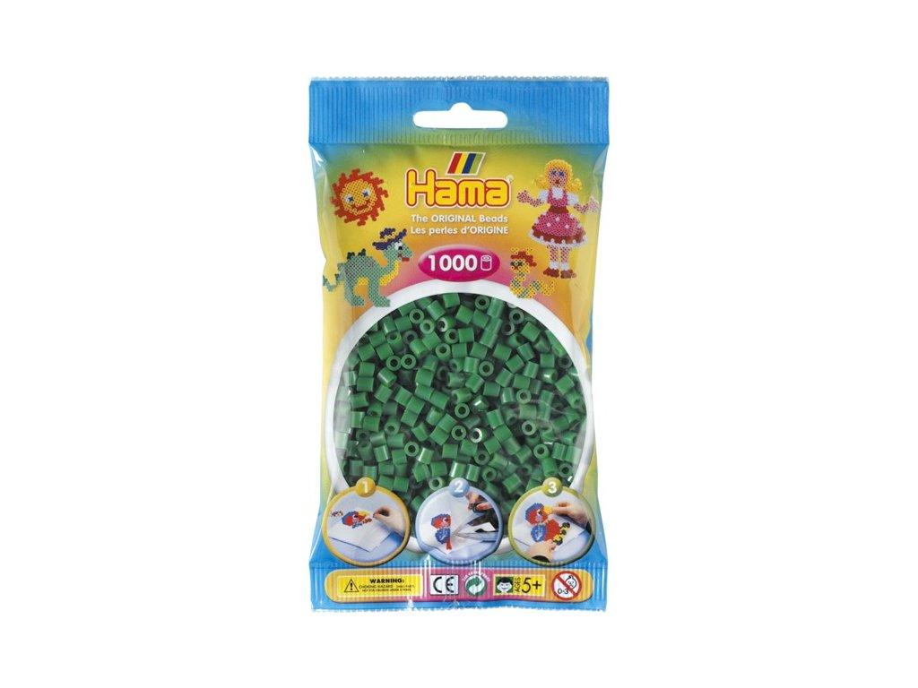 Zelené korálky