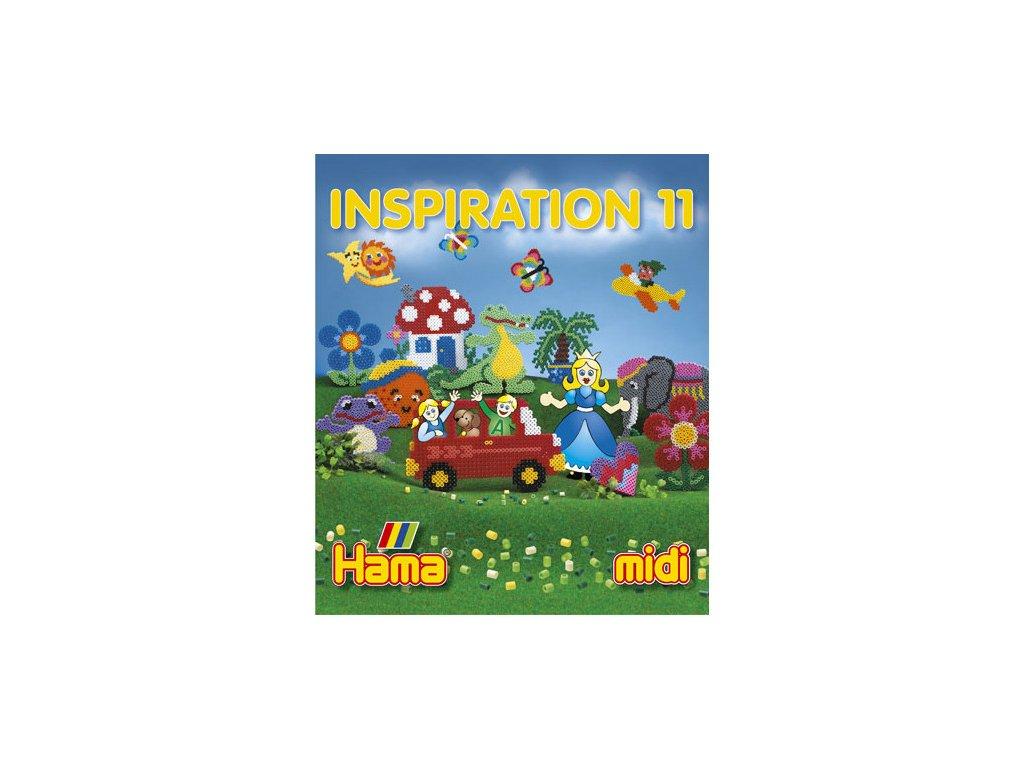 Inspirativní knížka Hama č.11  k zažehlovacím korálkům Midi