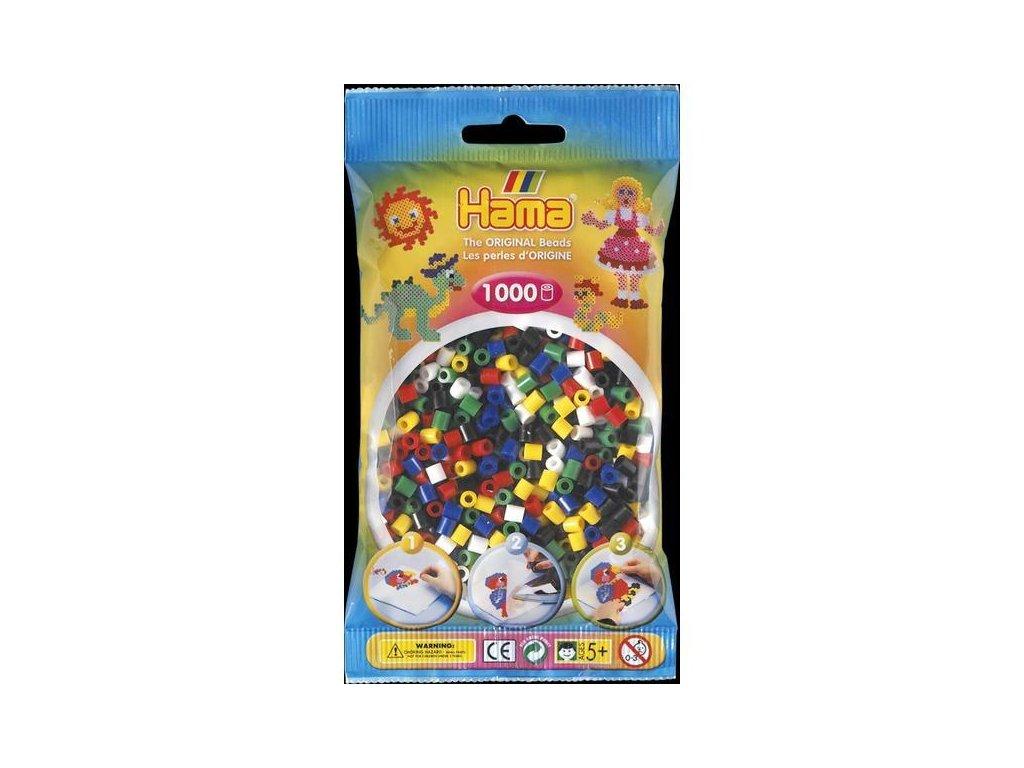 Zažehlovací korálky Midi mix 1000 ks