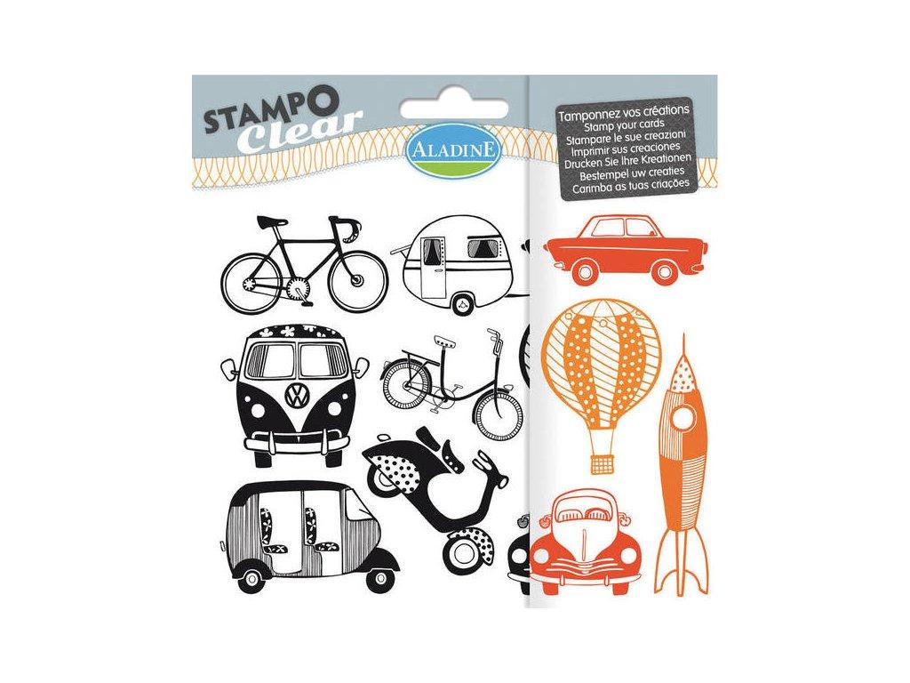 StampoClear, Dopravní prostředky