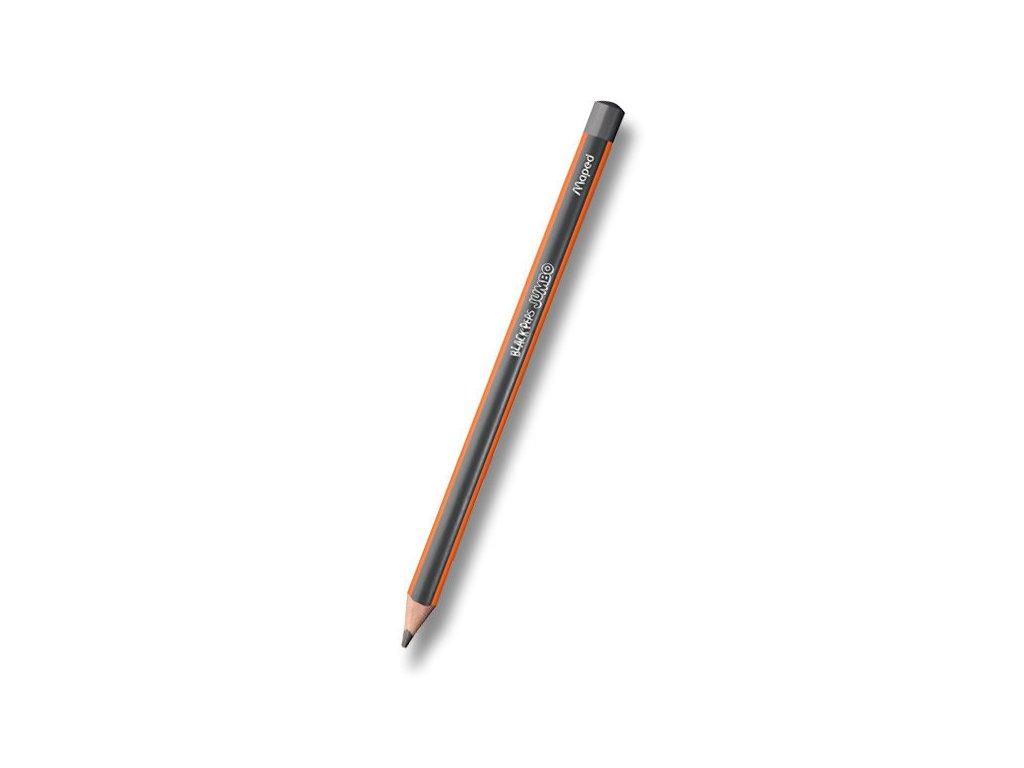 Tužka Maped Black´Peps Jumbo - tvrdost HB, bez pryže