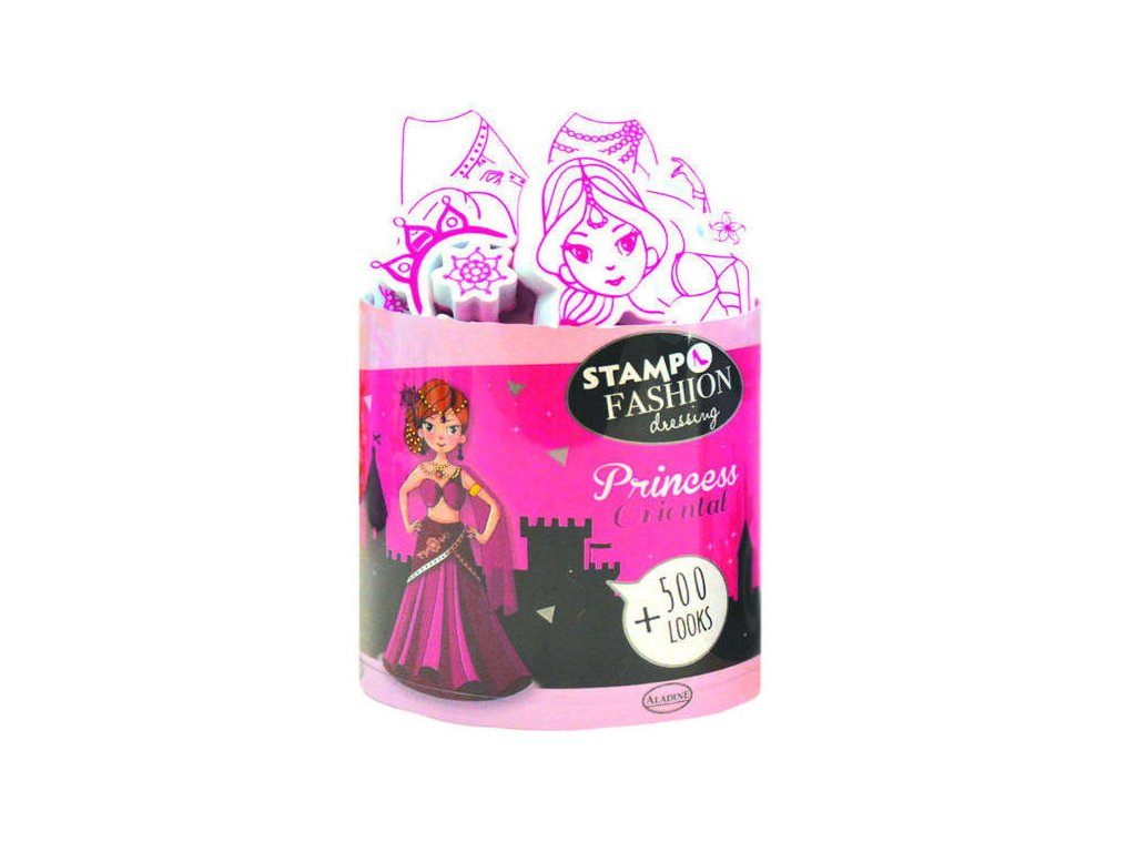Razítka Aladine Stampo Fashion - Princezny z Orientu