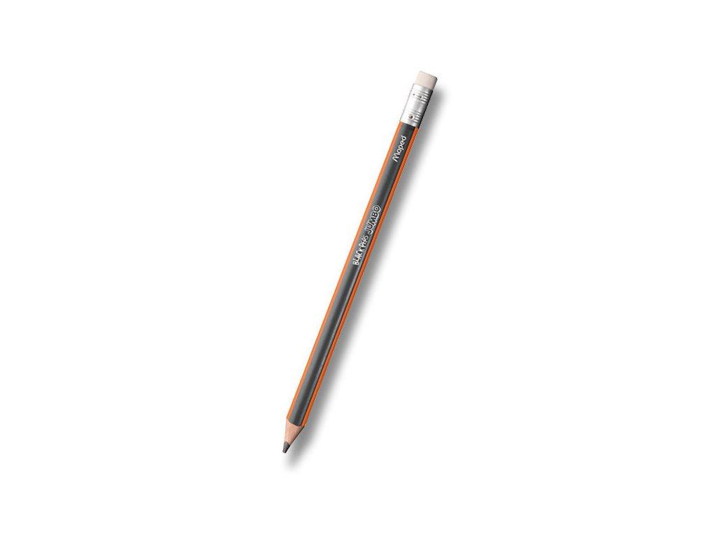 Tužka Maped Black´Peps Jumbo - tvrdost HB, s pryží