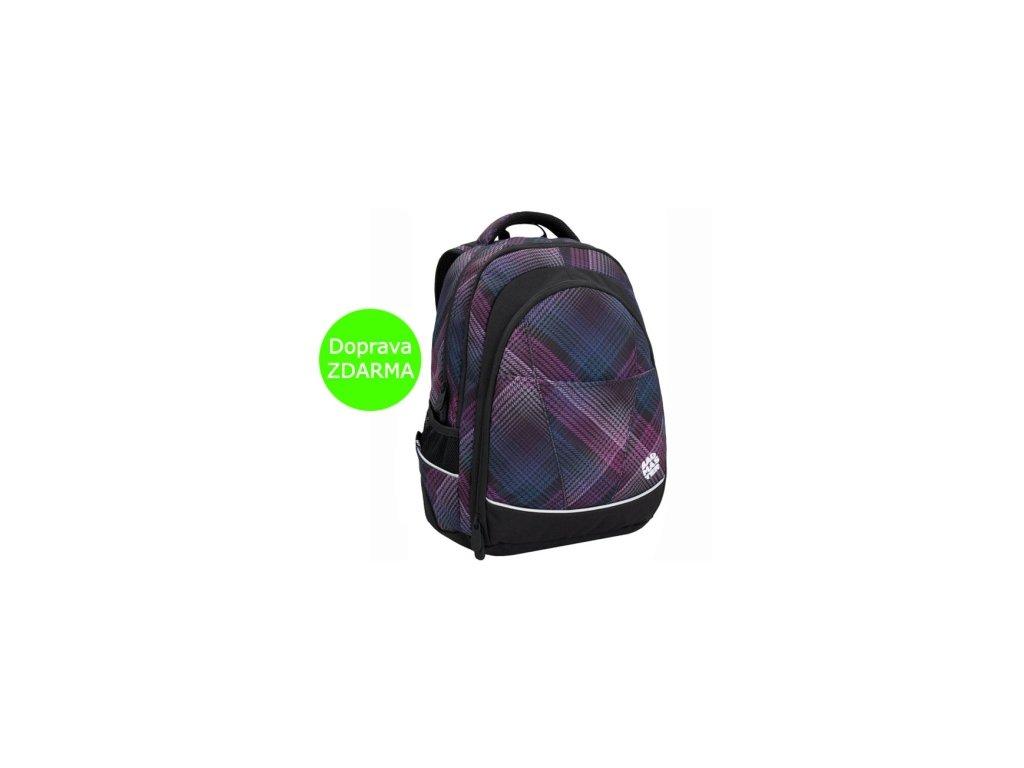 73e96718f4 Dívčí studentský batoh Bagmaster DIGITAL 6 B BLACK PINK GREEN - www ...