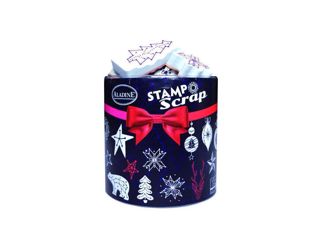 Razítka Aladine Stampo Scrap, Vánoční Konstelace