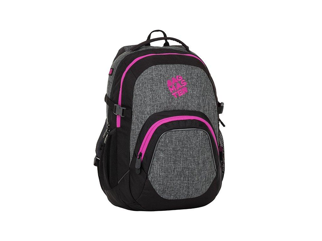 Školní batoh pro holky Bagmaster Matrix 8 A - www.stencl.cz 310e3d9039