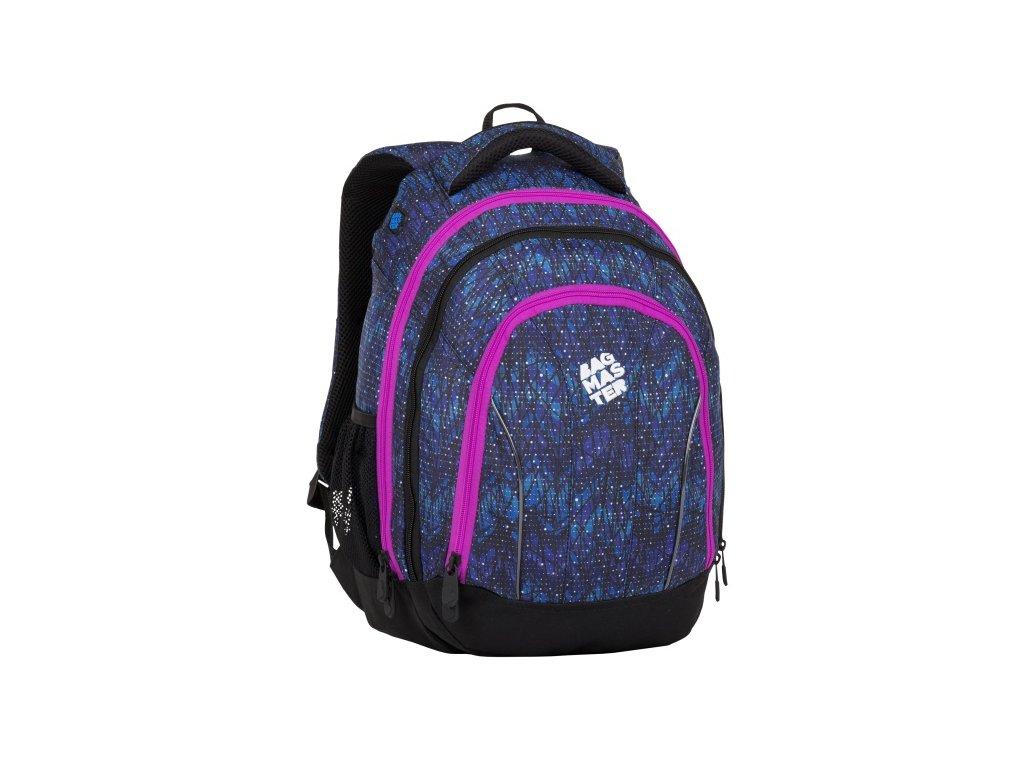 Školní batoh pro holky Bagmaster SUPERNOVA 8 A - www.stencl.cz e91e0c31e6