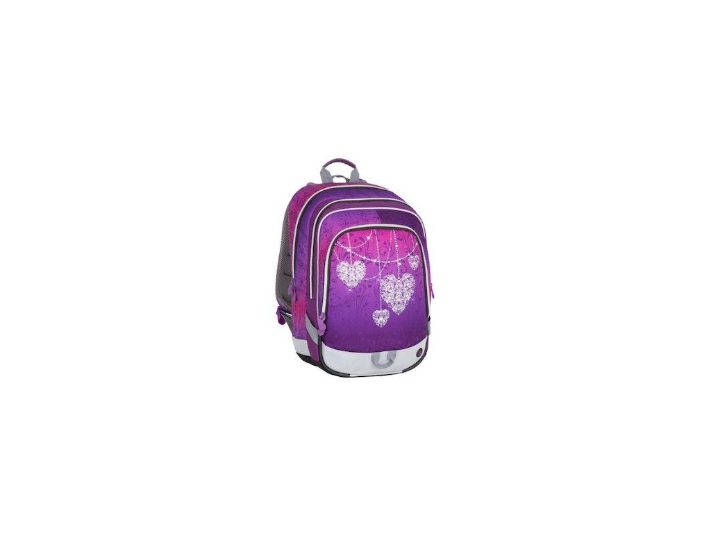 skolni batoh pro prvnacky bagmaster alfa 7 a violet pink 87592 0