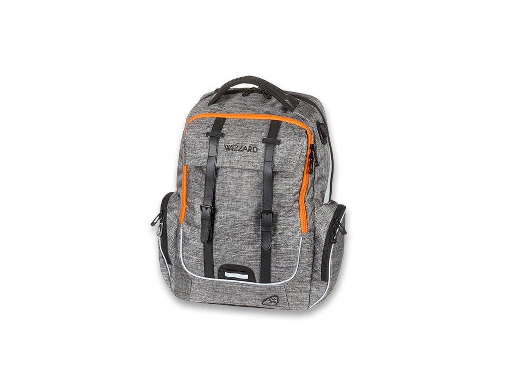 Školní batoh pro kluky Walker Campus Academy Wizzard Grey Melange ... afca32278c