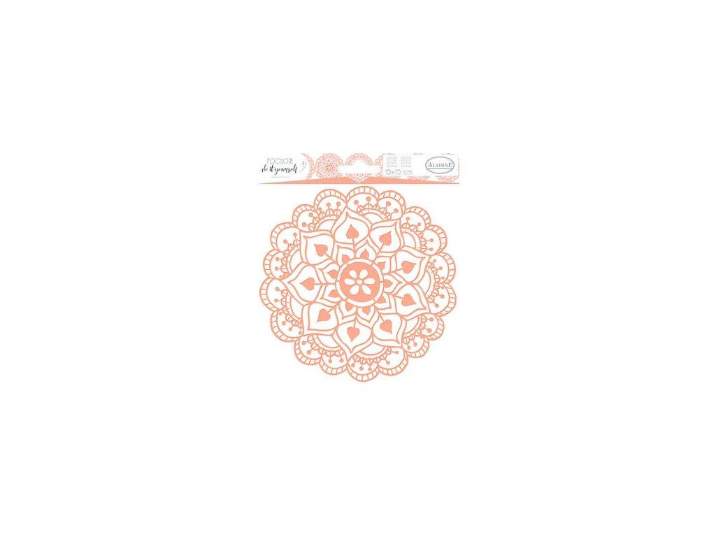 plastova sablona aladine mandala 15x15 cm 87860 0