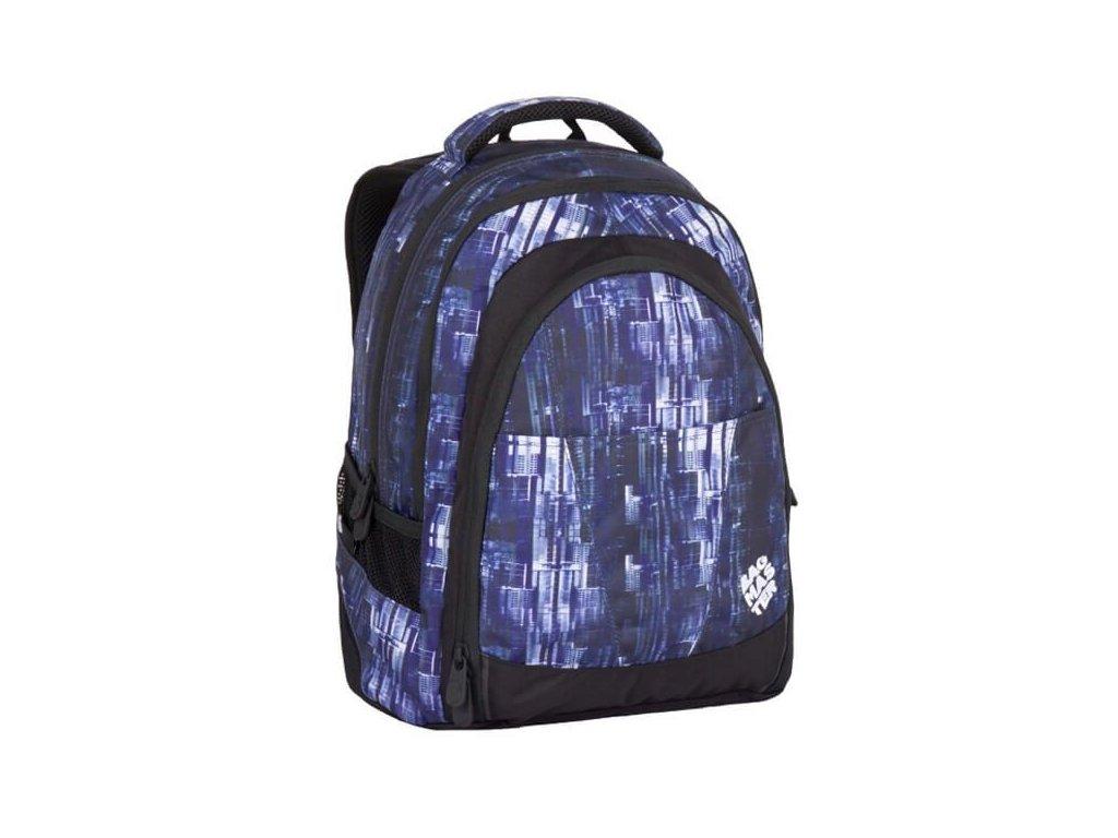 df8b8fbbc2a studentsky batoh pro kluky bagmaster digital 7 ch blue black 87616 0