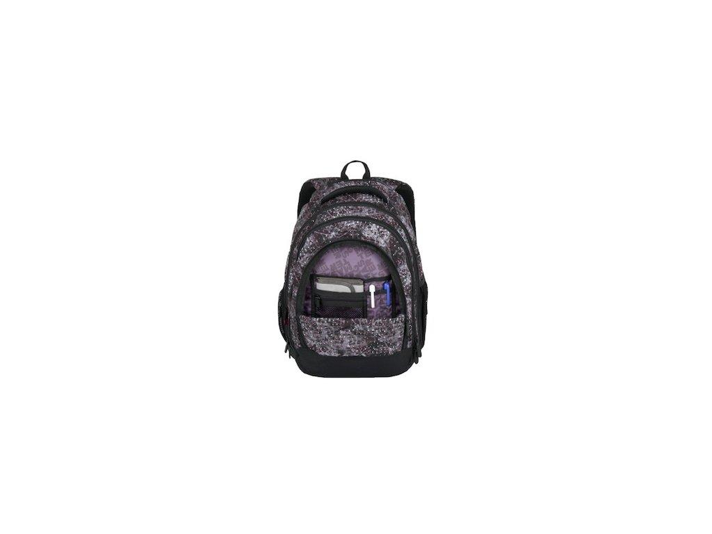 5f0ac198a8 ... skolni batoh pro holky bagmaster energy 7 a black pink violet 87617 5