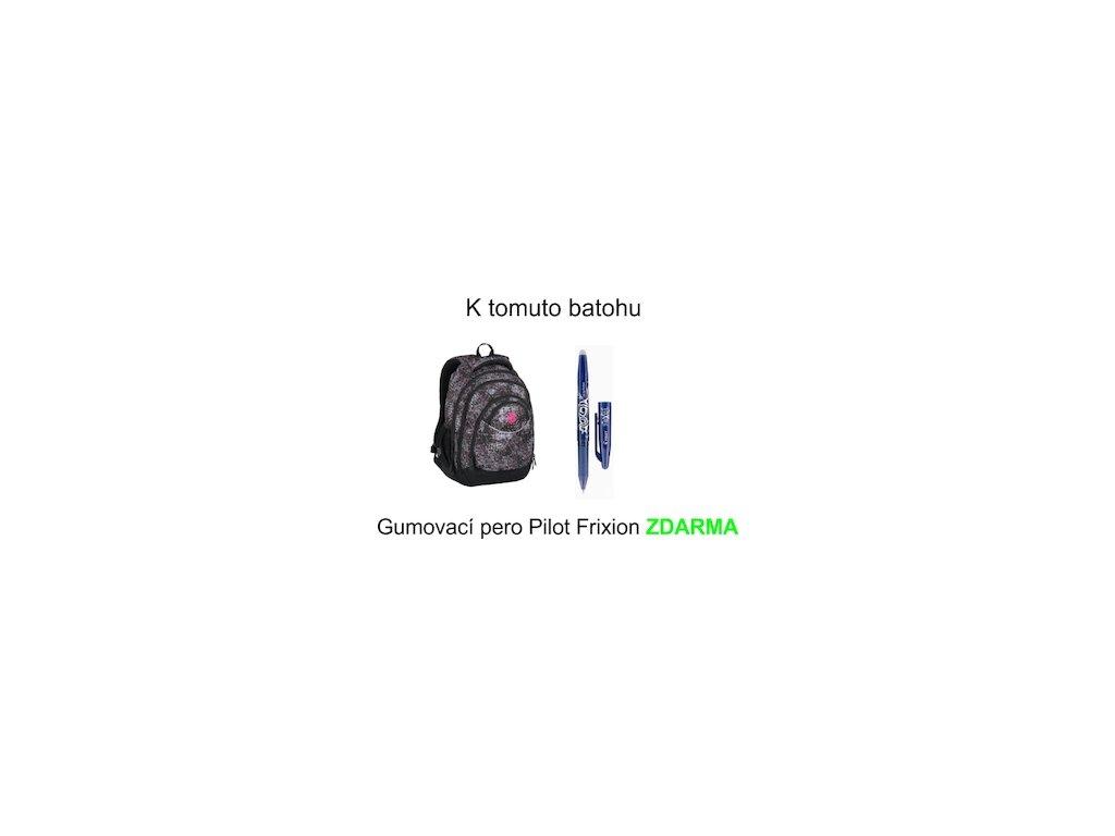 Školní batoh pro holky Bagmaster ENERGY 7 A BLACK PINK VIOLET - www ... 6aa1692633