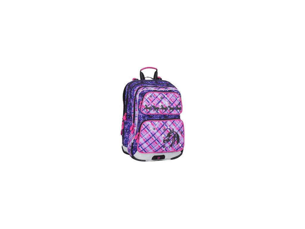 Školní batoh pro prvňáčky Bagmaster GALAXY 7 B VIOLET PINK - www ... 0d073490f6