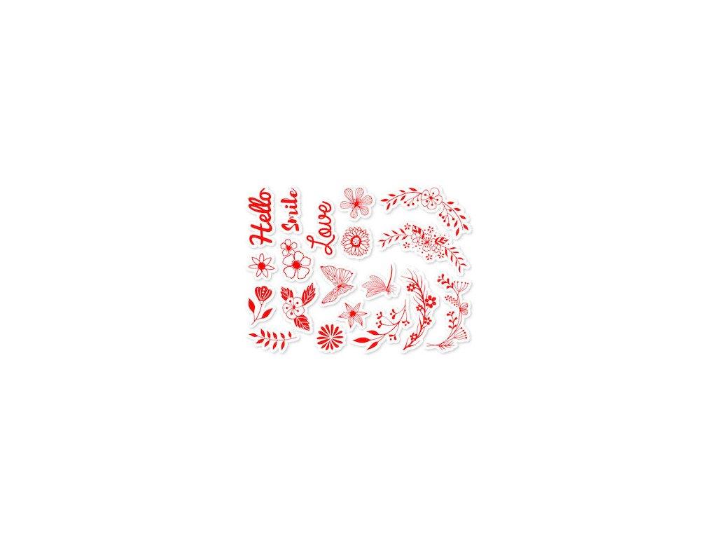razitka aladine na textil stampotextile kvetinovy venec 87719 1
