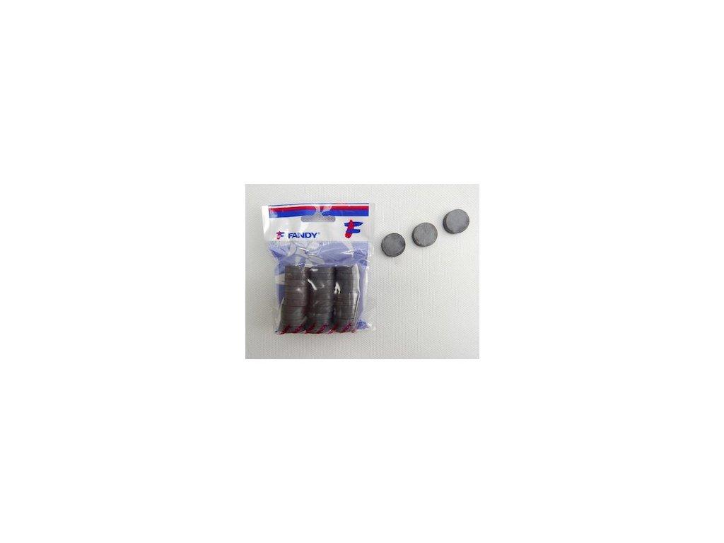 magnet cerny kulaty prumer 20 mm 87851 0