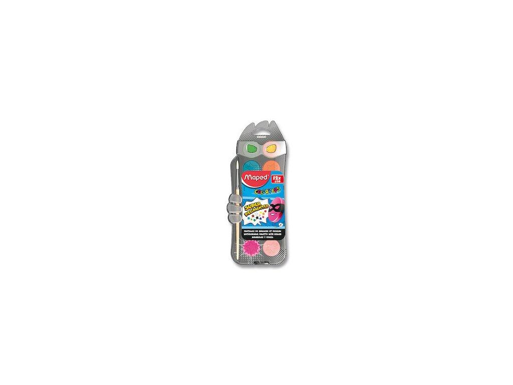 vodove barvy maped color peps 12 barev prumer 30 mm 87626 0