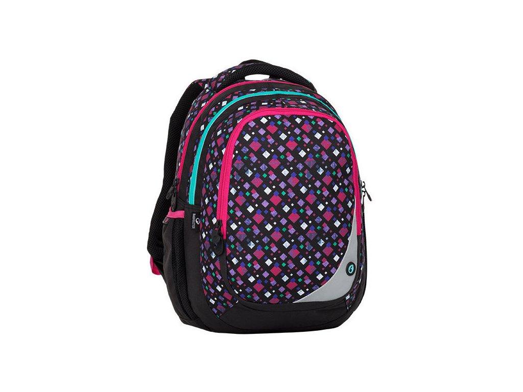 Školní batoh pro holky BAGMASTER - Maxvell 8A