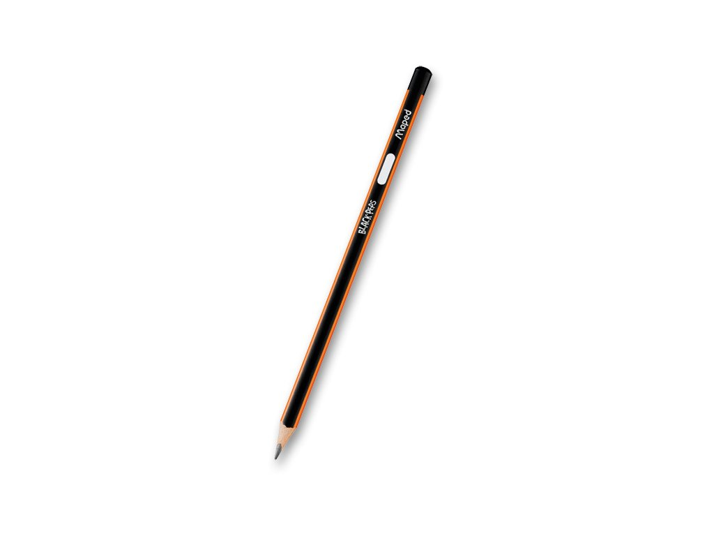 Tužka Maped Black´Peps, tvrdost HB, 3 ks na blistru