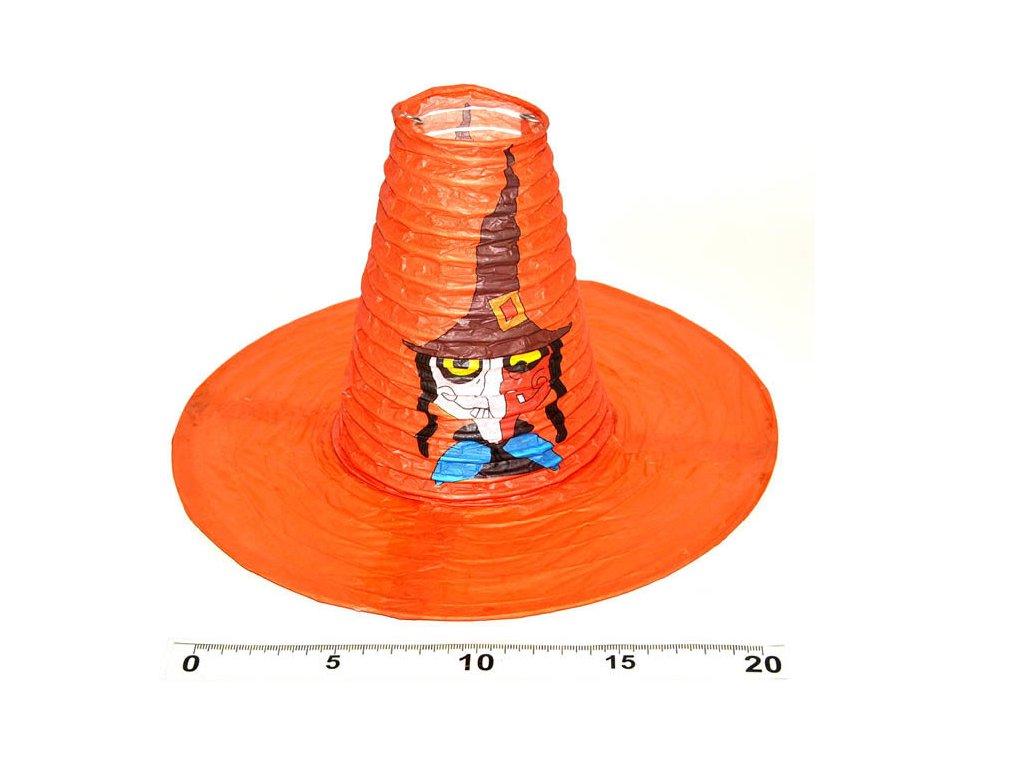 oraanž. klobouk