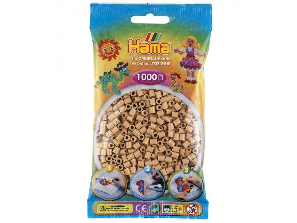 6PC0000101 h207 75 koralky svetle hnede