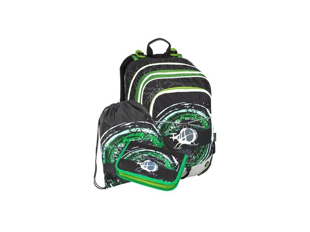 d0e8f442cf Školní batoh pro prvňáčky Bagmaster Alfa 9 D - 3 dílný set + Doprava ...