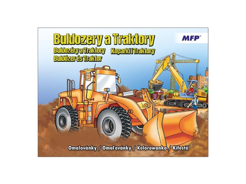 Omalovánky MFP A4 Buldozery a traktory