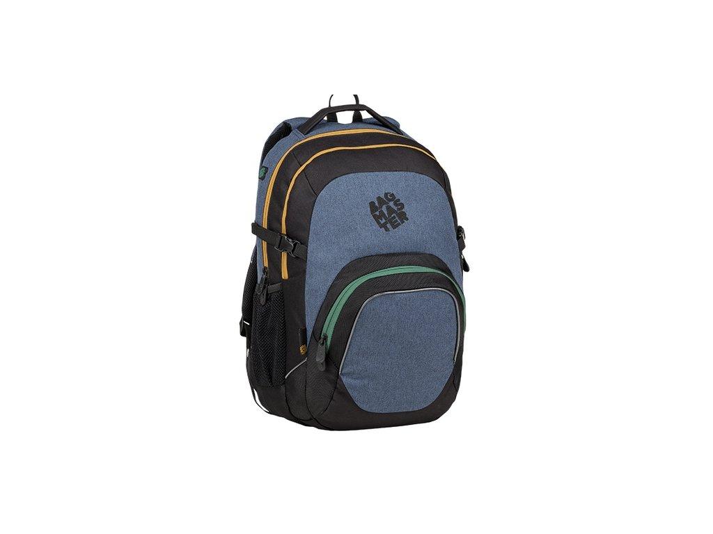 91e7b48c5d Školní batoh pro kluky Bagmaster Matrix 9 B + Doprava Zdarma a Sada ...