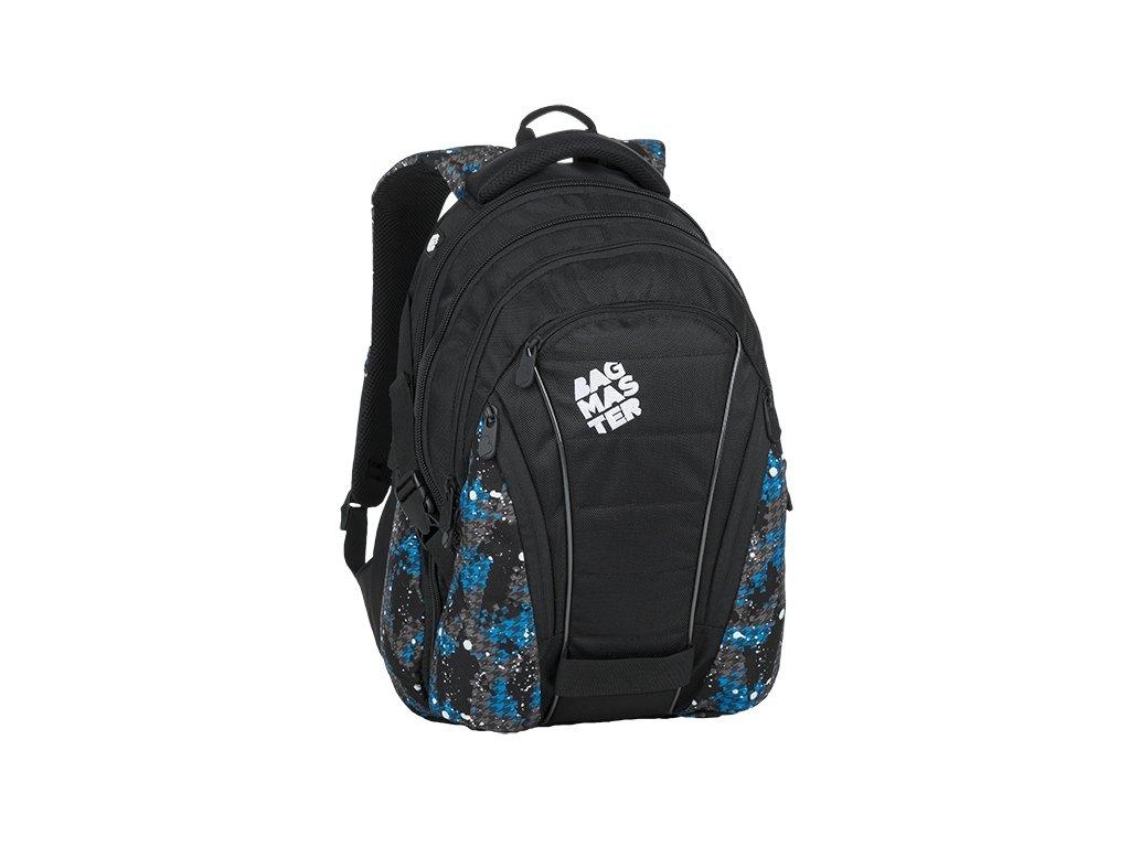 1e93325ffa Studentský batoh pro kluky na notebook Bagmaster Bag 9 D + Doprava ...