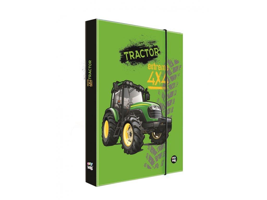 Školní box na sešity A4 Karton P+P - Traktor