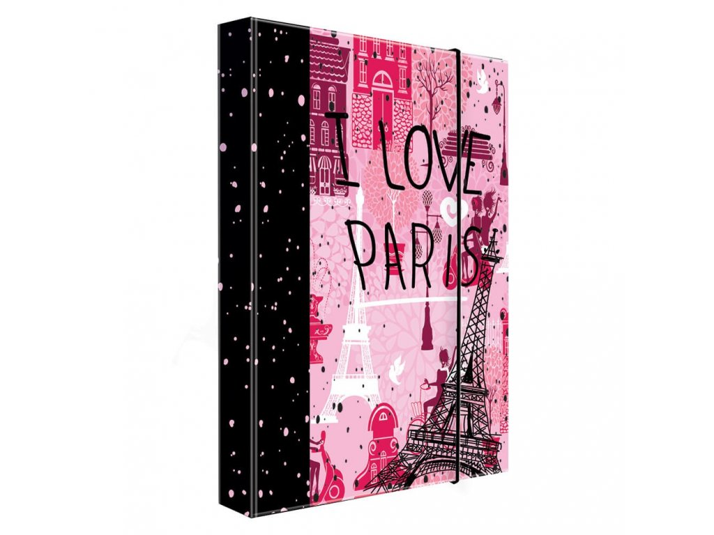 BoxA4 Jumbo Love Paris 5 71519