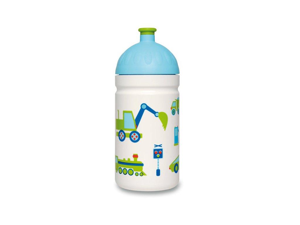 Zdravá lahev 0,5 l - Autíčka