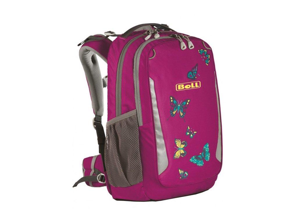 Školní batoh Boll, SCHOOL MATE, 18 l - Butterflies Boysensbery
