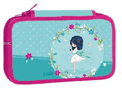Školní třípatrový penál Stil - Cute Anna