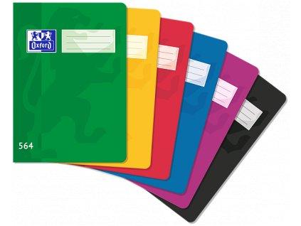 Školní sešit Oxford, A5, 564 - 60 listů, linkovaný