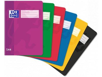 Školní sešit Oxford, A5, 544 - 40 listů, linkovaný