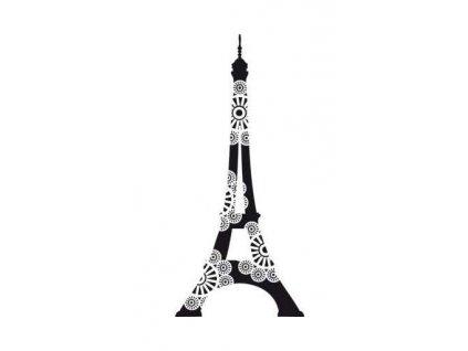 Dřevěné razítko, velikost G, rozkvetlá Eifelovka