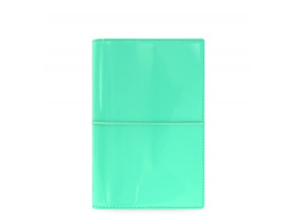 filofax domino patent personal turquoise large 2 1 1