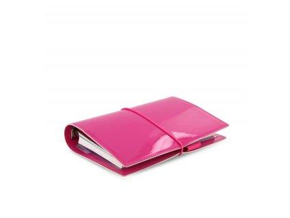 filofax domino patent personal hot pink alt 1 1 1 1