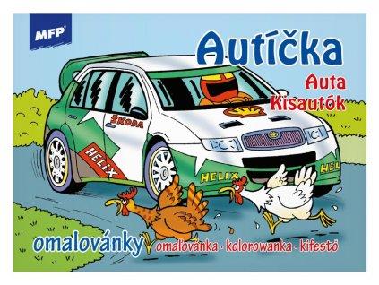 Omalovánky MFP Autíčka