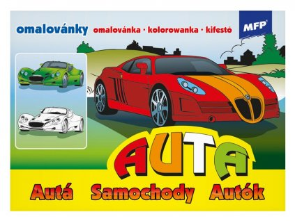 Omalovánky MFP Auta