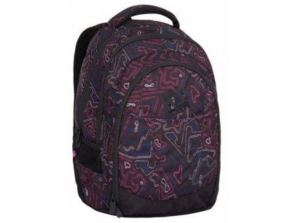 Dívčí studentský batoh Digital Bagmaster 7 A