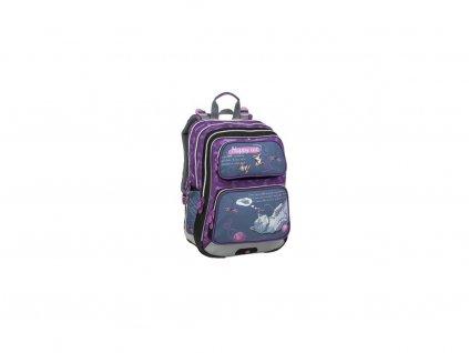 Školní batoh pro holky Bagmaster  GALAXY 9 A